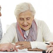 Senioren administratie